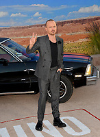 """LOS ANGELES, USA. October 08, 2019: Aaron Paul at the premiere of """"El Camino: A Breaking Bad Movie"""" at the Regency Village Theatre.<br /> Picture: Paul Smith/Featureflash"""