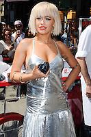 NEW YORK CITY, NY, USA - AUGUST 19: Rita Ora at the DKNY MYNY fragrance launch celebration held at Madison Square Park on August 19, 2014 in New York City, New York, United States. (Photo by Celebrity Monitor)