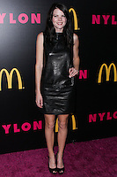WEST HOLLYWOOD, CA - DECEMBER 05: Emma Greenwell arriving at the Nylon Magazine December 2013/January 2014 Cover Launch Party held at Quixote Studios on December 5, 2013 in West Hollywood, California. (Photo by Xavier Collin/Celebrity Monitor)