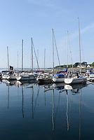 Hafen voni Simrishamn, Provinz Skåne (Schonen), Schweden, Europa<br /> port of Simrisham, province Skåne, Sweden