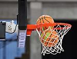 Zwei Baelle im Korb in der Pause beim Spiel in der BARMER 2. Basketball Bundesliga Pro A, MLP Academics Heidelberg - Ehingen Urspring.<br /> <br /> Foto © PIX-Sportfotos *** Foto ist honorarpflichtig! *** Auf Anfrage in hoeherer Qualitaet/Aufloesung. Belegexemplar erbeten. Veroeffentlichung ausschliesslich fuer journalistisch-publizistische Zwecke. For editorial use only.