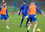 St Johnstone Training…<br />Murray Davidson pictured during training at McDiarmid Park ahead of Saturdays game against Motherwell.<br />Picture by Graeme Hart.<br />Copyright Perthshire Picture Agency<br />Tel: 01738 623350  Mobile: 07990 594431