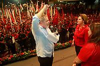 ESTAS FOTOS NAO PODEM SER VENDINDAS NO ESTADO DO PARA<br /> PA - LULA/PARÁ - POLÍTICA - O presidente Luiz Inácio Lula da Silva participa de um comício da governadora de Belém e candidata à reeleição, Ana Júlia Carepa (d), no bairro de Pedreira, em Belém (PA), nesta quinta-feira.<br /> <br /> <br /> FOTO TARSO SARRAF/AE/AE