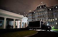 Early Morning At The White House