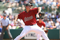 March 16th 2008:  Brian Moehler of the Houston Astros during a Spring Training game at Osceola County Stadium in Kissimmee, FL.  Photo by:  Mike Janes/Four Seam Images