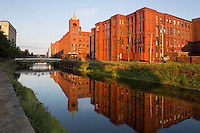 North canal and Pacific Mills, Lawrence, MA