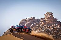4th January 2021; Dakar Rally stage 2;  #308 Serradori Mathieu (fra), Lurquin Fabian (bel), Century, SRT Racing, Motul, Auto, action during the 2nd stage of the Dakar 2021 between Bisha and Wadi Al Dawasir, in Saudi Arabia on January 4, 2021