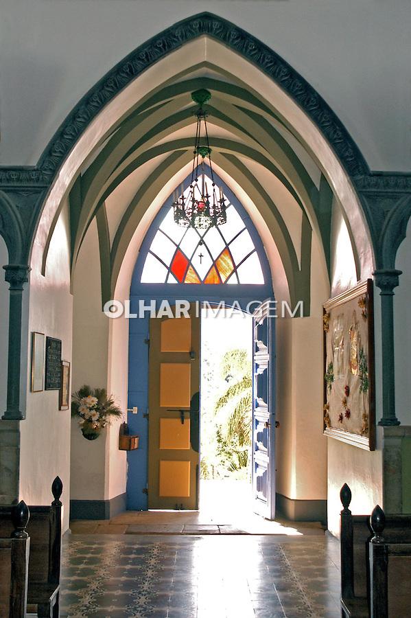 Igreja do Colégio do Caraçá. Catas Altas. Minas Gerais. 2005. Foto de Thais Falcão.