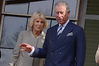 Washington, DC - March 19, 2015: His Royal Highness The Prince of Wales and The Duchess of Cornwall tour the Lincoln Cottage and Soldiers Home in the District of Columbia, March 19, 2015, during a four-day USA visit. Prince Charles has officially visited the United States 19 times since 1970. (Photo by Don Baxter/Media Images International)