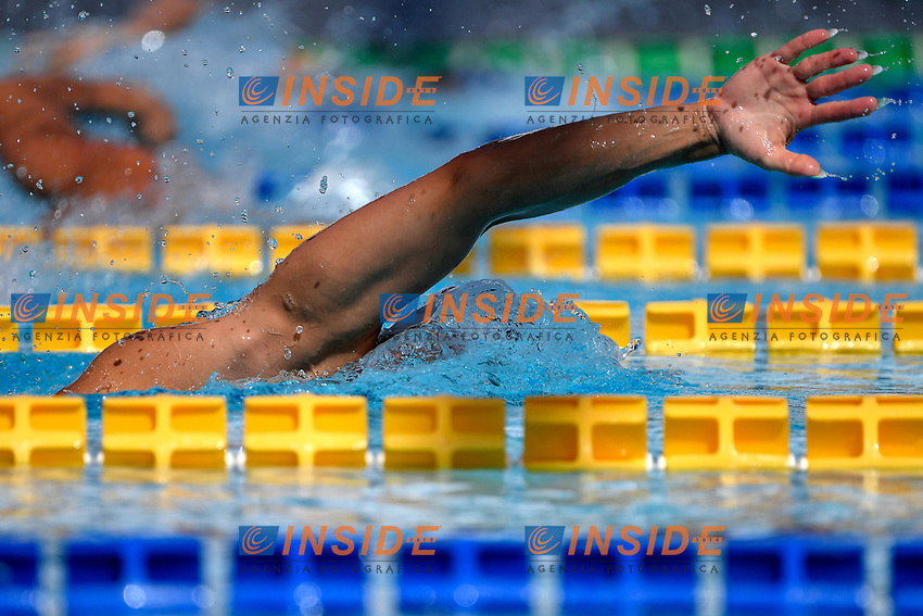 Mariaa Ugolkova of Switzerland competes in the women 200m freestyle during the 58th Sette Colli Trophy International Swimming Championships at Foro Italico in Rome, June 25th, 2021. Maria Ugolkova placed 4th in her heat.