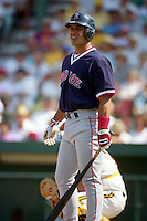 Boston Red Sox Cheo Garcia during Spring Training 1993 at McKechnie Field in Bradenton, Florida.  (MJA/Four Seam Images)