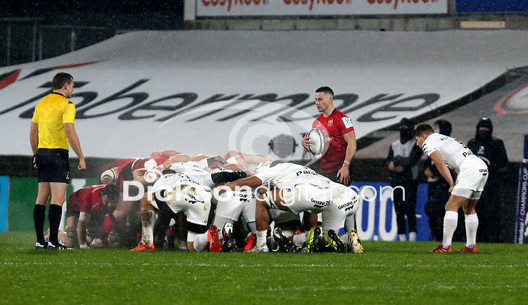 11 December 2020; John Cooney during the Heineken Champions Cup Pool B Round 1 match between Ulster and Toulouse at Kingspan Stadium in Belfast. Photo by John Dickson/Dicksondigital