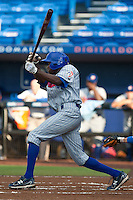 Evan Crawford #7 of the Daytona Cubs during game 3 of the Florida State League Championship Series against the St. Lucie Mets at Digital Domain Park on Spetember 11, 2011 in Port St. Lucie, Florida. Daytona won the game 4-2 to win the Florida State League Championship.  Photo by Scott Jontes / Four Seam Images