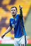 Motherwell v St Johnstone…20.10.18…   Fir Park    SPFL<br />Liam Craig shouts instructions<br />Picture by Graeme Hart. <br />Copyright Perthshire Picture Agency<br />Tel: 01738 623350  Mobile: 07990 594431