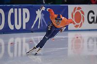 SPEEDSKATING: 24-11-2019 Tomaszów Mazowiecki (POL), ISU World Cup Arena Lodowa, 500m Men Division A, Dai Dai Ntab (NED), ©photo Martin de Jong