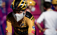 Wout van Aert (BEL/Jumbo - Visma) after finishing up Mont Aigoual<br /> <br /> Stage 6 from Le Teil to Mont Aigoual (191km)<br /> <br /> 107th Tour de France 2020 (2.UWT)<br /> (the 'postponed edition' held in september)<br /> <br /> ©kramon