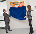 30/09/2010   Copyright  Pic : James Stewart.005_hospital_painting  .::  SERCO ::  SERCO'S MIKE MACKAY AND TERESA CANALIAS UNVEIL THE NEW PAINTING BY ARTIST ALEX MCMILLAN ESPECIALLY COMMISSIONED FOR THE NEW FORTH VALLEY ROYAL HOSPITAL  ::