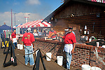 Fair food, and Pete's BBQ are institutions at The Puyalup Fair.  Western Washington State Fair.