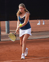 August 6, 2014, Netherlands, Rotterdam, TV Victoria, Tennis, National Junior Championships, NJK, Noesjka Brink (NED)<br /> Photo: Tennisimages/Henk Koster