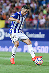 Deportivo Alaves's Diego Torres during the match of La Liga Santander between Atletico de Madrid and Deportivo Alaves at Vicente Calderon Stadium. August 21, 2016. (ALTERPHOTOS/Rodrigo Jimenez)