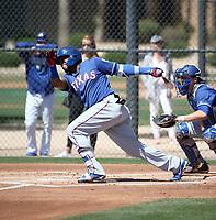 Yanio Perez - Texas Rangers 2019 spring training (Bill Mitchell)