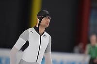SPEEDSKATING: 07-12-2018, Tomaszów Mazowiecki (POL), ISU World Cup Arena Lodowa, 500m Men Division B, Joel Dufter (GER), ©photo Martin de Jong