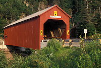 covered bridge, New Brunswick, Fundy National Park, NB, Canada, Pointe Wolfe Covered Bridge in Fundy National Park in New Brunswick.