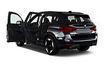 Rear three quarter door view of a 2021 BMW iX3 Impressive 5 Door SUV