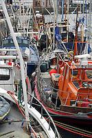 Fishing boats, Peel, Isle of Man.