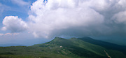 Appalachian Trail -  Storm clouds over the Southern Presidential Range. Located in the White Mountain National Forest of New Hampshire USA