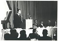 Michel Belanger, 1977<br /> PHOTO : JJ Raudsepp<br />  - Agence Quebec presse