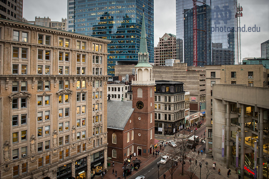 Nov. 19, 2015; Old South Meeting House, Boston (Photo by Matt Cashore/University of Notre Dame)