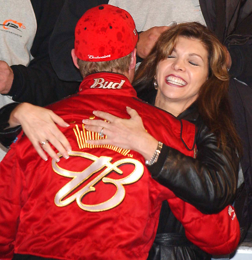 Teresa Hugs Earnhardt Jr Rick Wilson Photography Born ralph dale earnhardt, jr on 10th october, 1974 in kannapolis, north carolina usa, he is famous for daytona. https rickwilson photoshelter com image i0000xvtoasuhzg8