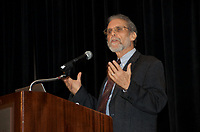 Daniel Goleman at the Coaching in Leadership and Healthcare Conference by the Institute of Coaching and Harvard Medical School at the Renaissance Hotel Boston MA October 13 and 14, 2017