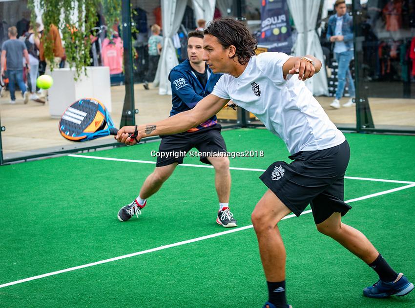 Den Bosch, Netherlands, 13 June, 2018, Tennis, Libema Open, Padle<br /> Photo: Henk Koster/tennisimages.com