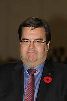 November 8, 2013 - Denis Coderre (newly elected) Mayor of Montreal attend the Board of Trade of Metropolitan Montreal.