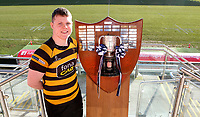 Monday 27th January 2020 | Ulster Schools' Cup Draw<br /> <br /> RBAI captain Rory Adair at the draw for the Ulster Schools' Cup Quarter Finals held at Kingspan Stadium, Ravenhill Park, Belfast, Northern Ireland. Fixtures to be played on or before 8 Feb 2020.  Photo credit - John Dickson DICKSONDIGITAL