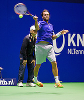December 18, 2014, Rotterdam, Topsport Centrum, Lotto NK Tennis, Boy Westerhof (NED)<br /> Photo: Tennisimages/Henk Koster