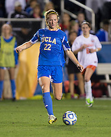Sam Mewis. UCLA advanced on penalty kicks after defeating Virginia, 1-1, in regulation time at the NCAA Women's College Cup semifinals at WakeMed Soccer Park in Cary, NC.