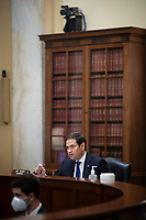 United States Senator Marco Rubio (Republican of Florida), chairman of the Senate Small Business and Entrepreneurship Committee, speaks during a hearing in Washington, D.C., U.S., on Wednesday, June 10, 2020. The hearing examines the government's virus relief package that offers emergency assistance to small businesses. <br /> Credit: Al Drago / Pool via CNP/AdMedia