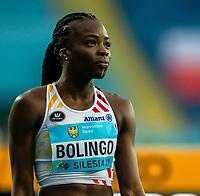1st May 2021; Silesian Stadium, Chorzow, Poland; World Athletics Relays 2021. Day 1; Bolingo close up before Belgian ladies heats in the 4 x 400