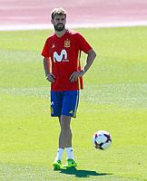 Spain's Gerard Pique during training session. June 5,2017.(ALTERPHOTOS/Acero)