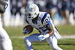 Middle Tennessee Blue Raiders running back Reggie Whatley (25) in action during the Armed Forces Bowl game between the Middle Tennessee Blue Raiders and the Navy Midshipmen at the Amon G. Carter Stadium in Fort Worth, Texas. Navy defeated Middle Tennessee 24 to 6.