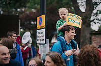 Froome Fan<br /> <br /> Stage 7: West Bridgford to Mansfield (215km)<br /> 15th Ovo Energy Tour of Britain 2018