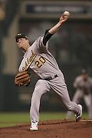 Mark Mulder. Baseball: 2004 All Star Game. Houston, TX 7/9/2004 MANDATORY CREDIT: Brad Mangin