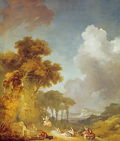 J.H. Fragonard 1732-1806. The Swing.  National Gallery of Art--S. Kresge Collection.  Reference only.