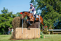 GBR-Emily King rides Valmy Biats during the Cross Country for the CCI-L 4*U25. Interim-9th. 2021 GBR-Bicton International Horse Trials. Devon. Great Britain. Saturday 12 June. Copyright Photo: Libby Law Photography