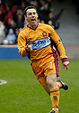 11/03/2006         Copyright Pic: James Stewart.File Name : sct_jspa11_motherwell_v_falkirk.SCOTT MCDONALD CELEBRATES AFTER HE SCORES THE SECOND FOR MOTHERWELL....Payments to :.James Stewart Photo Agency 19 Carronlea Drive, Falkirk. FK2 8DN      Vat Reg No. 607 6932 25.Office     : +44 (0)1324 570906     .Mobile   : +44 (0)7721 416997.Fax         : +44 (0)1324 570906.E-mail  :  jim@jspa.co.uk.If you require further information then contact Jim Stewart on any of the numbers above.........