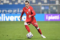 Piotr Zielinski of Poland in action during the Uefa Nation League Group Stage A1 football match between Italy and Poland at Citta del Tricolore Stadium in Reggio Emilia (Italy), November, 15, 2020. Photo Andrea Staccioli / Insidefoto