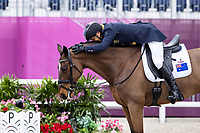 AUS-Shane Rose rides Virgil during the Eventing Dressage Team and Individual Day 1 - Session 1. Tokyo 2020 Olympic Games. Friday 30 July 2021. Copyright Photo: Libby Law Photography